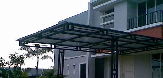 Kanopi Minimalis Atap Polycarbonate